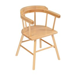 28cm Captain Chairs Natural