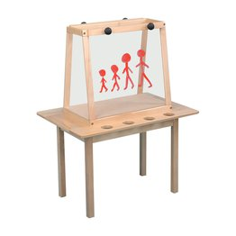Two Sided Table Easel With Perspex