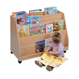 Double Sided Display Bookcase