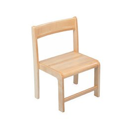 31cm Solid Beech Teachers Chair