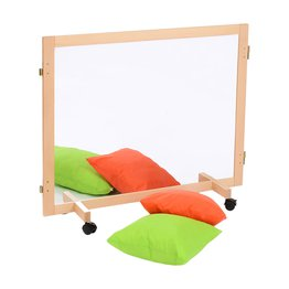 Room Divider (Mirror/Dry Wipe Non Magnetic Board)