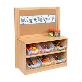 RS Angled Tidy Store with Trays and Cork Divider