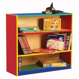 Bookcase with 2 Adjustable Shelves (Colour My World)