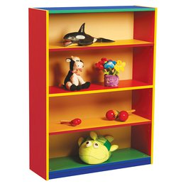Bookcase With 3 Adjustable Shelves (Colour My World)