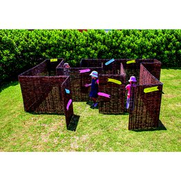 Wicker Maze Panels Set 18