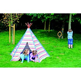 Teepee Rainbow Stripe
