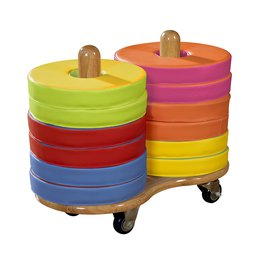 Donut Multi-Seat Trolley With 12 Cushions