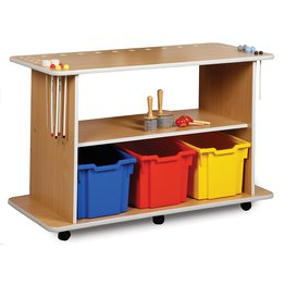 Musical Instruments Trolley With Three Trays