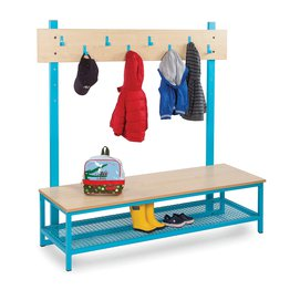 Cloakroom Top With 8 Hooks