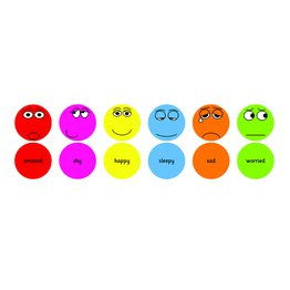 Pack1 Emotion Cushions 6 Pack