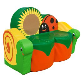 Back To Nature Snail Sofa With Arms