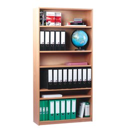 Open Bookcase With 5 Shelves H1810mm