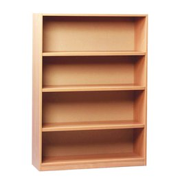Open Bookcase With 3 Shelves H1250mm